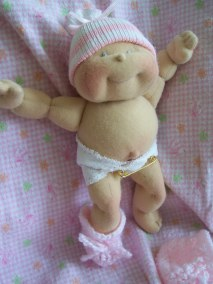 Soft Cloth Baby Doll The Original 8 Dinky Baby Pattern Free