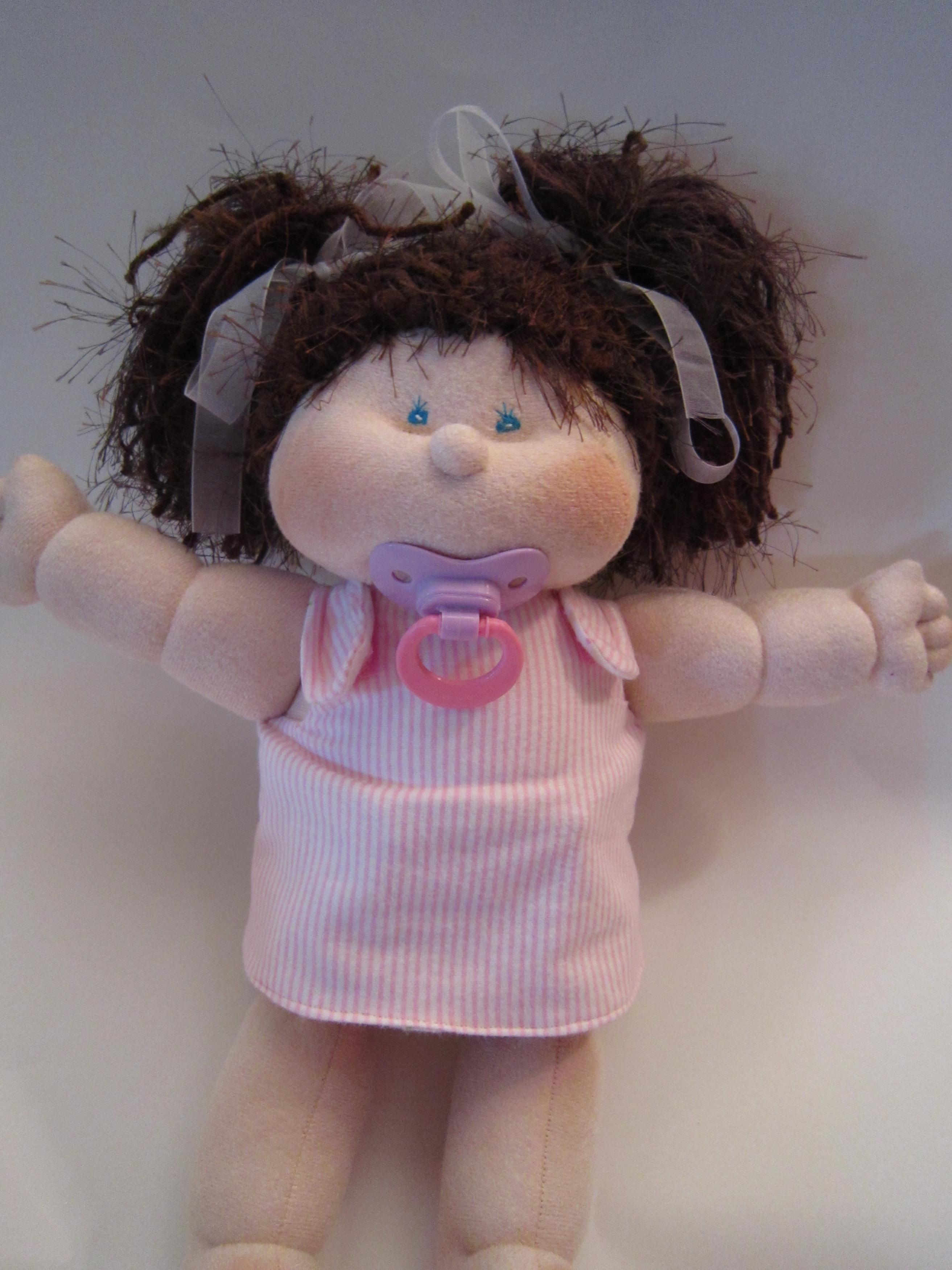 Dinky Baby Handmade Baby Doll Soft Sculpture Doll